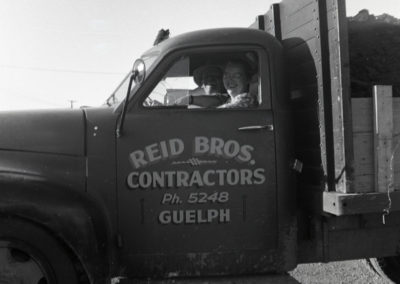 Reid Brothers Truck Side