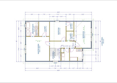 Gladstone Floor Plan Second