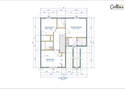 Adams Floor Plan Second