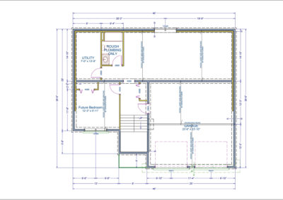 Barrington Floor Plans Basement