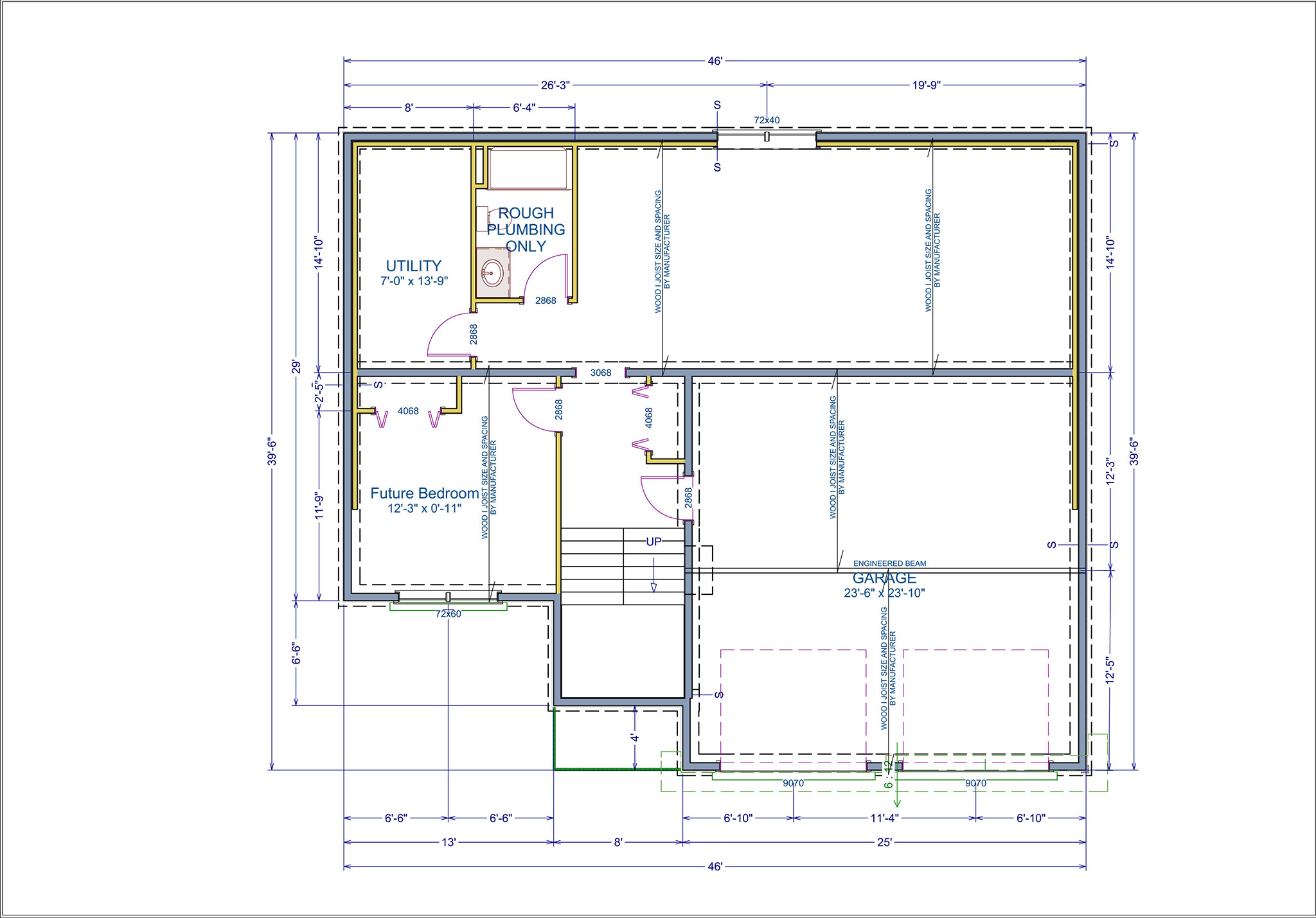 Barrington floor plans basement collins homes for Barrington floor plan