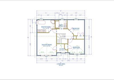 Beaufort Floor Plan Second