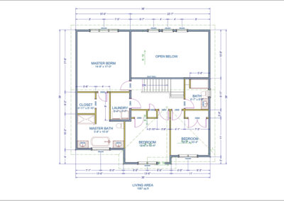 Brunswick Floor Plan Second