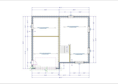 Allison Floor Plan Basement