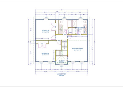 Glenmount Floor Plan Second
