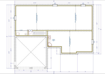 Jameson Floor Plan Basement