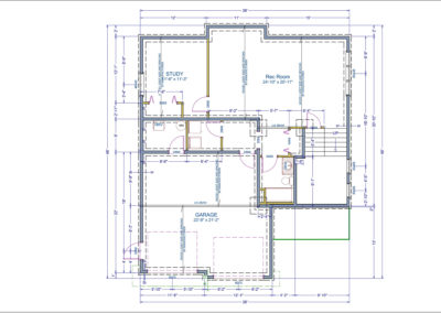 Lansburg Floor Plans Basement