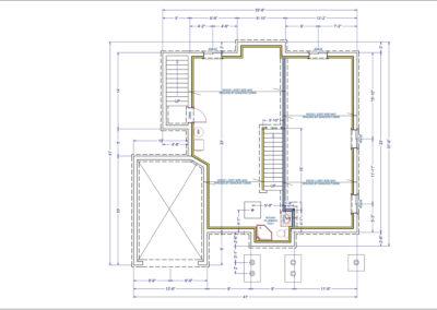 LeMarchant Floor Plan Basement