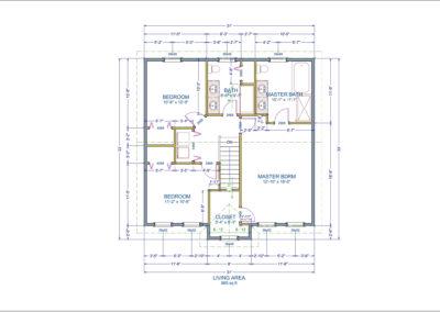 LeMarchant Floor Plan Second