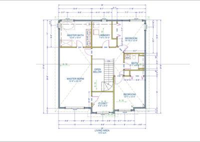 Joel Floor Plan Second