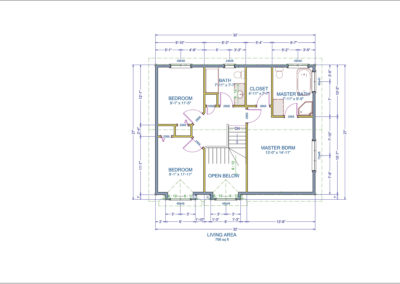 Owen Floor Plan Second