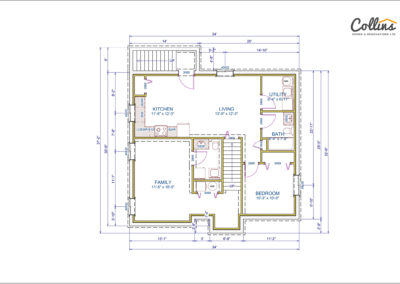 Shamrock Floor Plan Basement