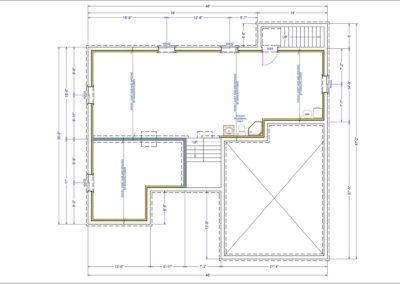 Somerset Floor Plan Basement
