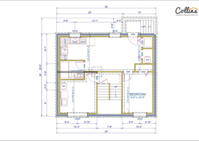 Tamarack Floor Plan Basement