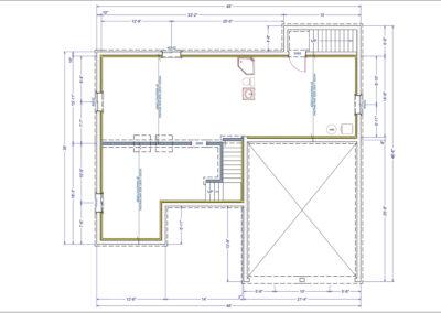 Teakwood Floor Plan Basement