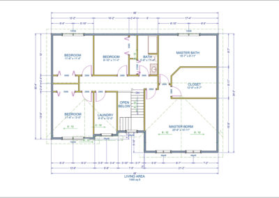 Teakwood Floor Plan Second