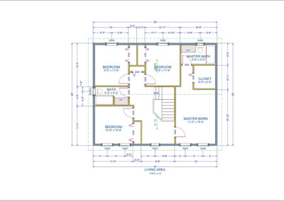 Topsail Floor Plan Second