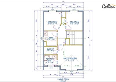 Victoria Floor Plan Second