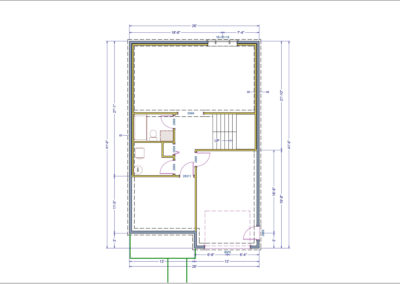 Wakefield Floor Plan Basement