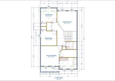 Wakefield Floor Plan Second