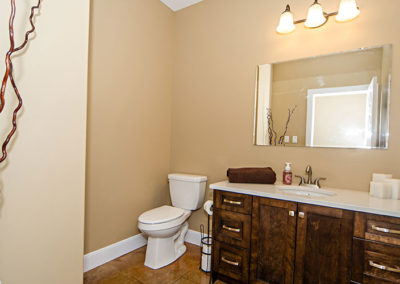 Second bathroom of one level living