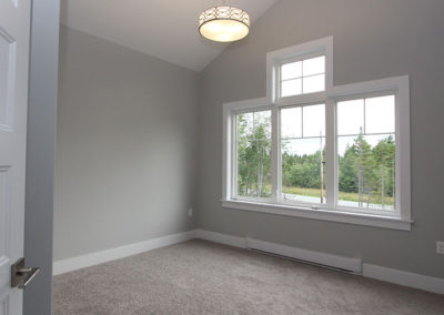 Lots of natural light coming in from picture window from these split entry home plans