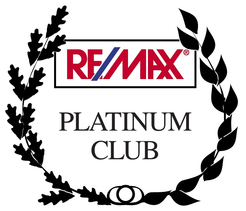 Remax Platinum Club logo.